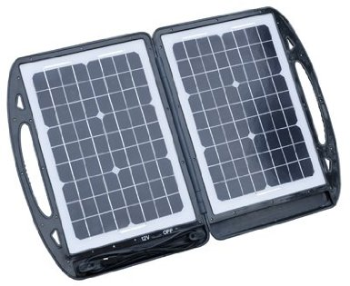 The Sierra Wave  30-Watt Portable Solar Collector