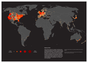 the-zombie-map-of-the-world